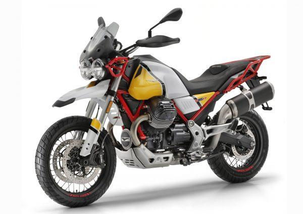 Moto guzzi v85 roja